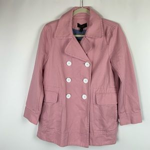 J. Crew Peacoat Pink Heavyweight Cotton Twill